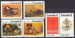 Canada N° 481 - 484B ** - Ungebraucht