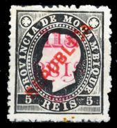 """!■■■■■ds■■ Mozambique 1915 AF#169(*) Local """"republica"""" 115/5 Chalky (x3088) - Mozambique"""