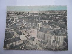 CPSM 53 - MAYENNE - EN AVION AU-DESSUS DE SAINT GEORGES BUTTAVENT - Mayenne