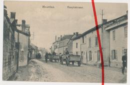 PostCard - Hauviné - Hauptstraße - 1915 - Vouziers