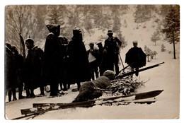 38 - Grenoble . Concours Français De Tir En Ski Le 20 Février 1910 . Carte Photo - Réf. N°853 - - Grenoble