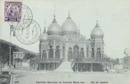Rio De Janeiro 1907 - Pavilhao Mourisco Na Avenida Beira-mar - Carte Précurseur Non Circulée N° 237 - Rio De Janeiro