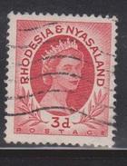 RHODESIA & NYASSALAND Scott # 144 Used - Rhodesia & Nyasaland (1954-1963)
