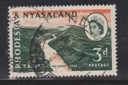 RHODESIA & NYASSALAND Scott # 172 Used - Rhodesia & Nyasaland (1954-1963)