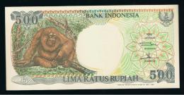 INDONESIA -  500 Rupias 1992 (98)  SC   P-128 - Indonesia
