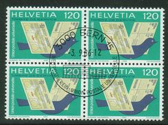 Suisse // Schweiz // Switzerland //  Service// UPU 1983  En Bloc De 4 1er Jour - Servizio