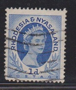 RHODESIA & NYASSALAND Scott # 142 Used - Rhodesia & Nyasaland (1954-1963)