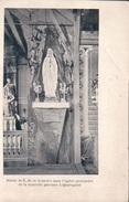 Quaregnon Statue De N D De Lourdes Dans L'eglise Provisoire De La Nouvelle Paroisse - Quaregnon