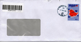 PRIVATPOST - BELEG   Mpn   2016 - Private & Local Mails