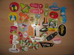 Lot De 35 étiquettes Fruits Et Légumes (labels) - Obst Und Gemüse