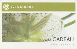 ## Carte  Cadeau  YVES ROCHER  ##  (France)   Gift Card, Giftcart, Carta Regalo, Cadeaukaart - Gift Cards