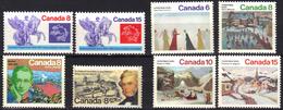 Canada N° 548, 549, 550 - 553, 554, 555 ** - Ungebraucht