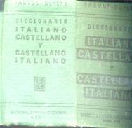 PARVUS DUPLEX DICCIONARIO ITALIANO ESPAÑOL Y ESPAÑOL ITALIANO EDITORIAL SOPENA ARGENTINA SRL AÑO 1940 766 PAGINAS AGOTAD - Dizionari