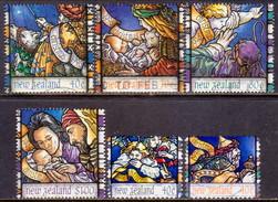 NEW ZEALAND 1996 SG 2020//27 Part Set Used 6 Stamps Of 8 Christmas - Nuova Zelanda
