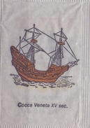 ITALIA : Suikerzakje/Sachet De Sucre/Sugar Package: SCHIP,NAVIRE,SHIP,SCHIFF, ## COCCA VENETA  XV Sec. ## - Sucres