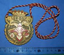 Huge ''Schutz'' Medal: PRINZ DIETER III PRINZESIN GERDA II 1984 - Autres Collections