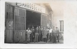 93 - MONTREUIL - CARTE PHOTO CARROSSERIE (1937 ?) - Montreuil
