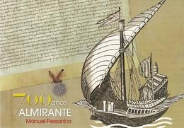 Portugal ** & Inteiro Postal, 700 Years Of Admiral Pessanha 2017 (6467) - Explorateurs