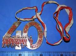 Huge ''Schutz'' Medal: ROTE FUNKEN DUISBURG 1989 - Organisations