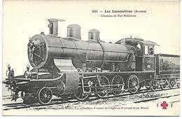 TRAIN - LES LOCOMOTIVES (SUISSE) - Locomotive Compound Mixte - Trenes