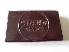 Rare! Bakelite Box With 30 Pieces Soras New Extra,Swedish Shaving Blades Around 30s - Rasierklingen