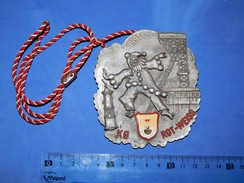 Huge ''Schutz'' Medal: 1991. KG ROT-WEISS - Carnaval