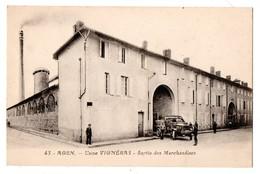 47 - AGEN . Usine Vignéras . Sortie Des Marchandises - Réf. N°854 - - Agen
