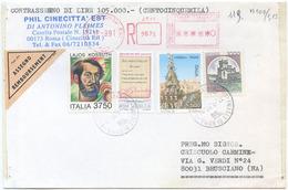 1994 KOSSUTH L. 3750 + ALTRI BUSTA RACC. CONTRASSEGNO 12.9.97 OTTIMA QUALITÀ (A904) - 6. 1946-.. Repubblica