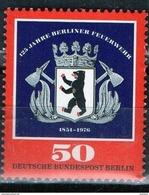 PIA - BERLINO - 1976 : 125° Anniversario Dei Pompieri Di Berlino  -  (Yv 487) - Hockey (su Erba)