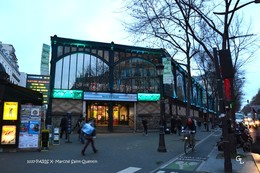 PARIS X (75)- Marché Saint-Quentin (EDITION à TIRAGE LIMITE) - District 10