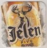JELEN  Pivo ,new Beer Coaster From Serbia Yugoslavia APATIN  BREWERY - Sous-bocks