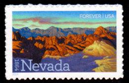 USA 2014, Scott #4907, Nevada Statehood, Forever (,49), MNH, VF - Unused Stamps
