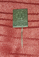 JRT, YUGOSLAVIAN RADIO TELEVISION- RARE ORIGINAL VINTAGE PIN BADGE - Badges