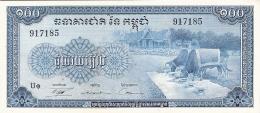 CAMBODGE   100 Riels   ND (1956-72)   P. 13b   AUNC - Cambodia