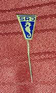 YUGOSLAVIAN FISHERMAN FEDERATION, ORIGINAL VINTAGE PIN BADGE - Badges