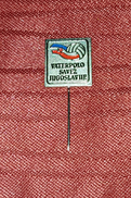 YUGOSLAVIAN WATER POLO FEDERATION, ORIGINAL VINTAGE PIN BADGE - Water Polo