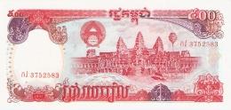 CAMBODGE   500 Riels   1991   P. 38a   UNC - Cambodia