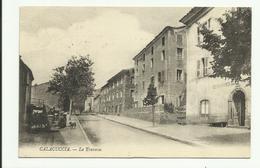 Cpa 2B,  CALACUCCIA , La Traverse , Animée - Andere Gemeenten