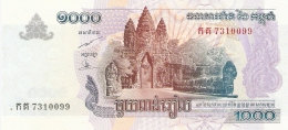 CAMBODGE   1000 Riels   2005   P. 58a   UNC - Cambodja