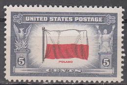 UNITED STATES   SCOTT NO. 909    MNH     YEAR  1943 - Verenigde Staten