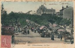 G91 - 69 - VILLEURBANNE - Rhône - La Place - Villeurbanne
