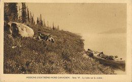 Missions D'extrême Nord Canadien, Série VI: La Halte Sur La Rivière - Carte O.M.I. Non Circulée - Missions