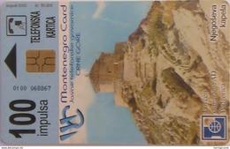 MONTENEGRO - Njegos Chapel, 100 Units ,Tirage 50.000, Used - Montenegro