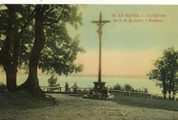CPA (76)   HONFLEUR Le Calvaire De N.D De Grace   (b Bur) - Honfleur