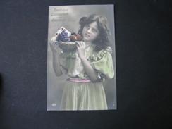 Schönes Mädchen Motiv, Mädchen, Portrait, Fillet, Girl, Child   Mode  1909 - Fotografie