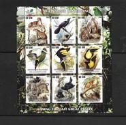 O) 2003 MAURITANIA, ANIMALS- HABITAT, THE NATURE CONSERVANCY, SAVING THE LAST GREAT PLACES, BLOCK MNH - Mauritania (1960-...)