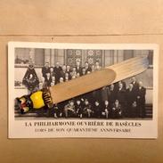 PAD. 6. Photo Carte Postale De La Philharmonie De Basècles Lors De Son Quarantième Anniversaire - Beloeil