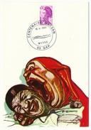 """FRANCE => Carte Postale - Cachet Temporaire """"Centenaire MAUZAN"""" GAP 1983 - Gedenkstempel"""