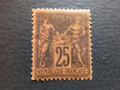 Sage N° 91 Signé Mr Brun Expert, Cote 500 € - 1876-1898 Sage (Type II)