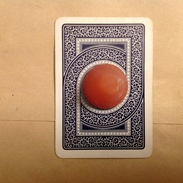 PAD. 5. Rare  Carte The Joker Avec Croix Gammée Au Centre - Playing Cards